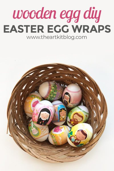 Make Gorgeous Easter Eggs the Easy Way – with Egg Wraps