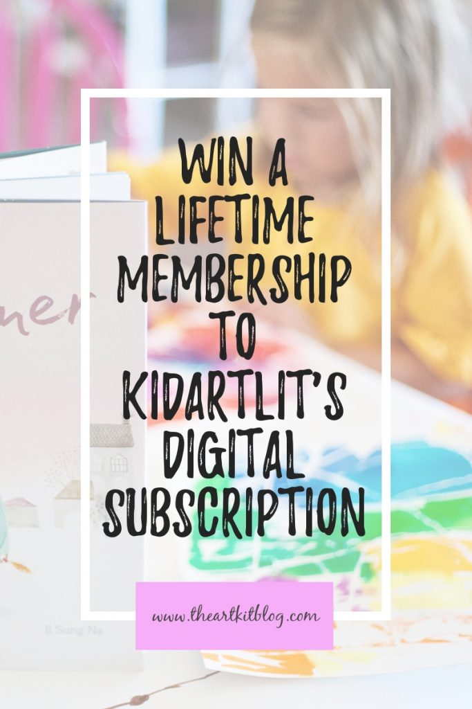 kidartlit subscription kids art books
