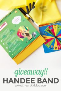 handee band giveaway stretchy band fitness for kids PINTEREST original