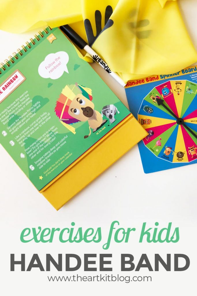 handee band review stretchy band fitness for kids PINTEREST original