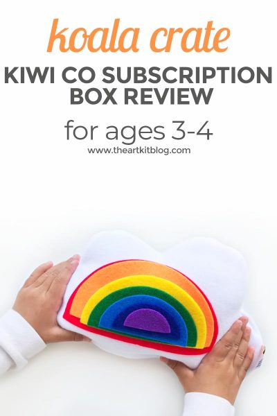 KiwiCo Review: Koala Crate for 3-4 Year Olds