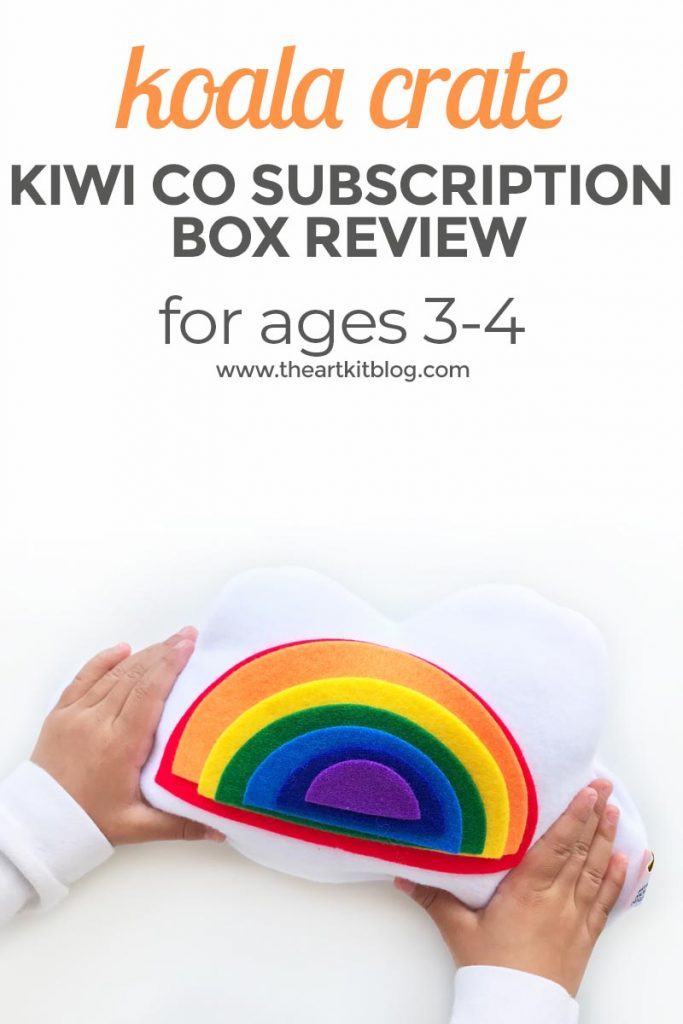 kiwi crate kiwico koala crate box review book PINTEREST subscription box for kids