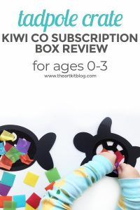 kiwi crate kiwico tadpole crate box review book PINTEREST
