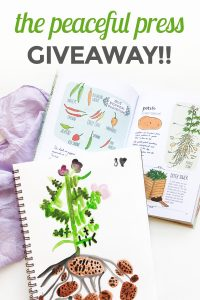 The Peaceful Press giveaway - literature and project based curriculum for children