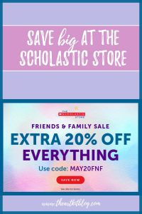 scholastic store sale coupon code