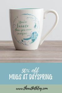 mug sale at dayspring