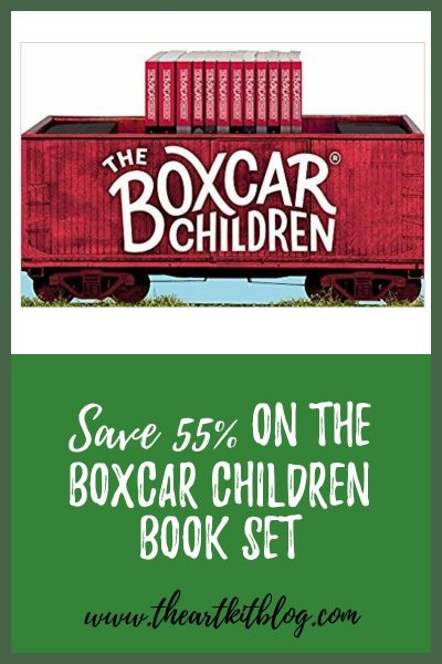 boxcar children book set on sale