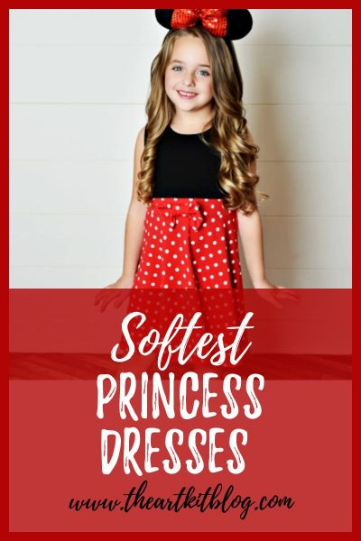softest princess inspired dresses miickey mouse