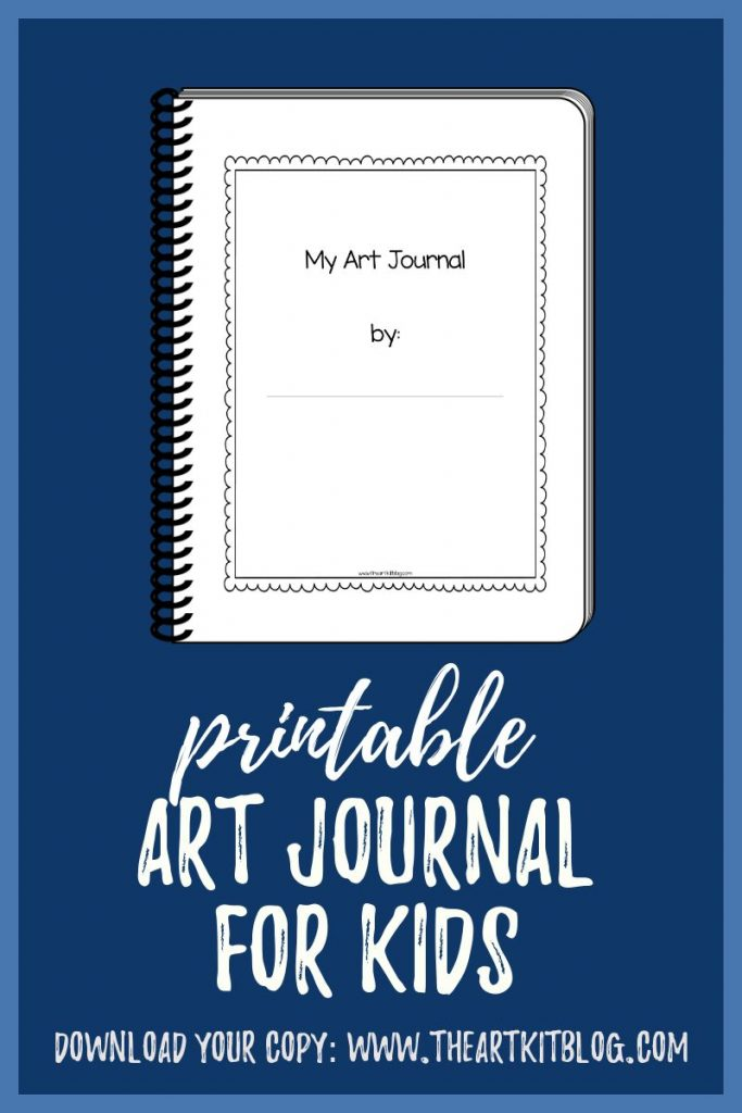 My Art Journal: 65 Drawing Prompts for Kids {Printable