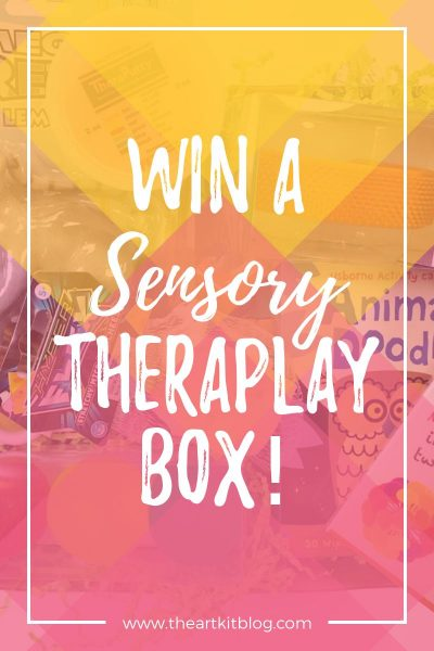 sensory theraplay box giveaway review subscription box for kids