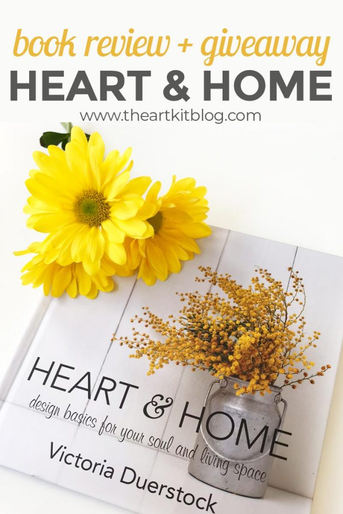 heart and home book review and giveaway