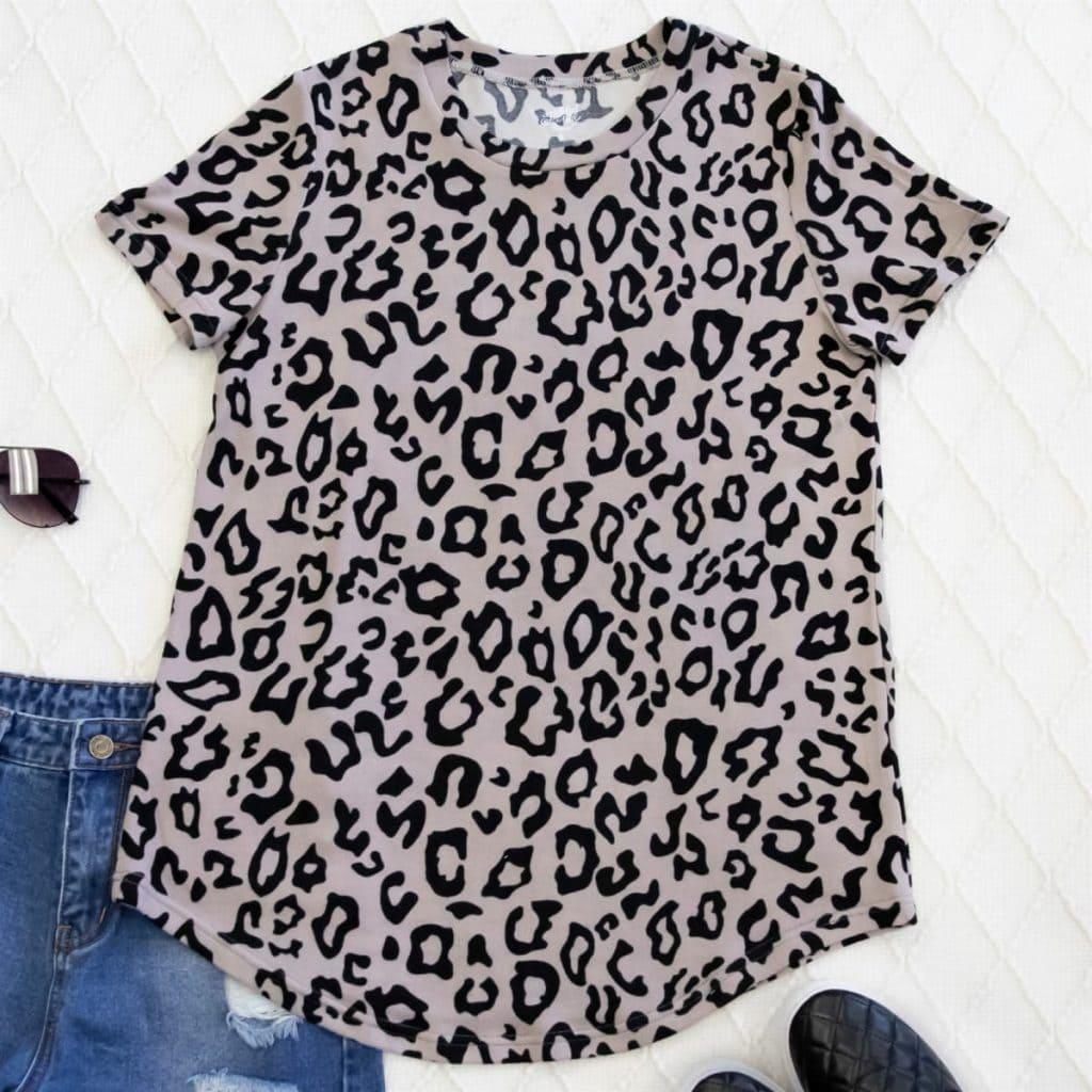 jane.com sale leopard t shirt women