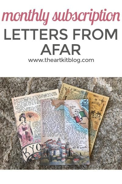 letters from afar monthly subscription review