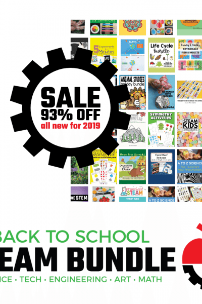 Back to School STEAM Bundle - 1000x1000 - Collage with Sale Gear