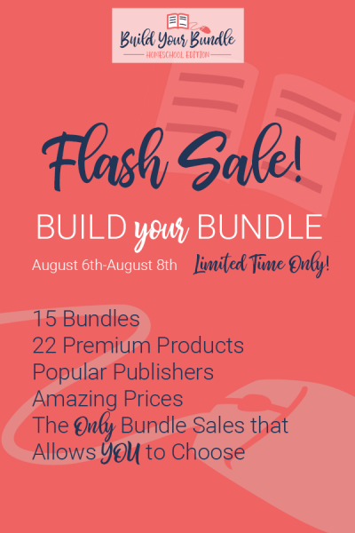 build your bundle flash sale homeschool coupon code