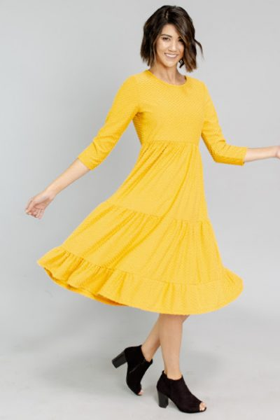 dress sale cents of style yellow twirl dress save 40% and free shipping fashion friday
