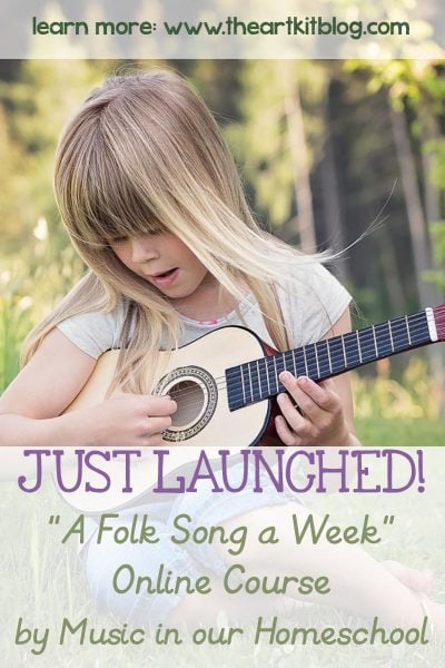 music in homeschool folk song a week online course homeschool kids