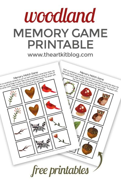 woodland-memory-match-game-printable-pinterest