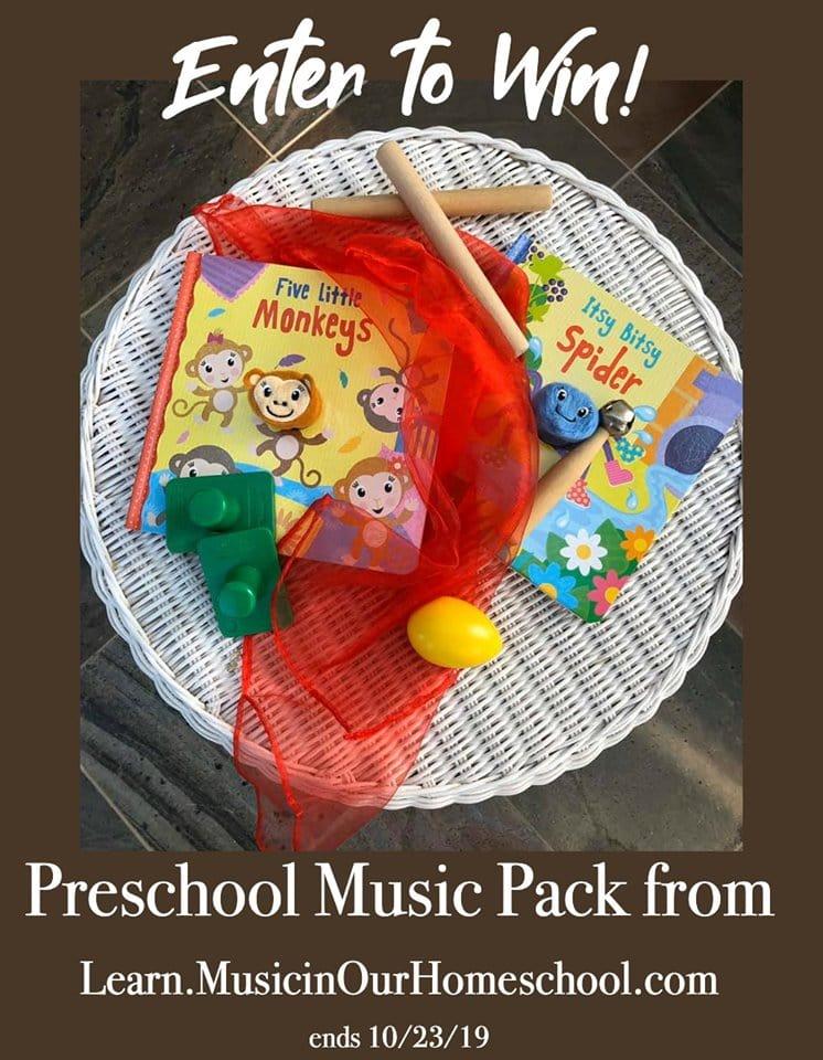 preschool music giveaway class