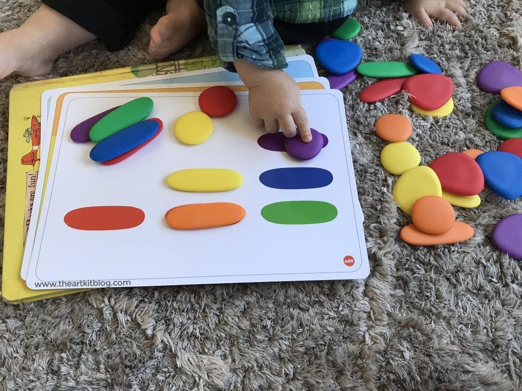 Junior Rainbow Pebbles Activity Set Review: Timberdoodle ...
