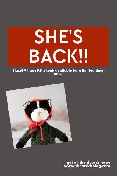 hazel village kit skunk coupon code sale