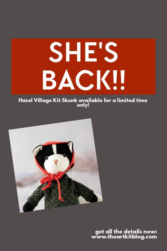 hazel village kit skunk coupon code sale