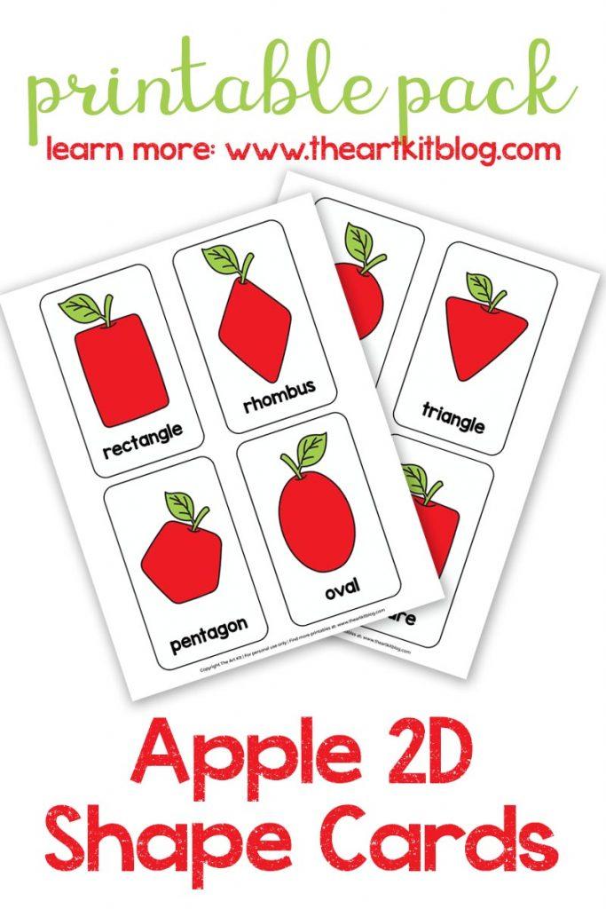 shape-2d-cards-the-art-kit-pinterest