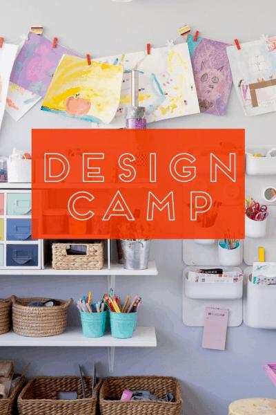 design camp art pantry