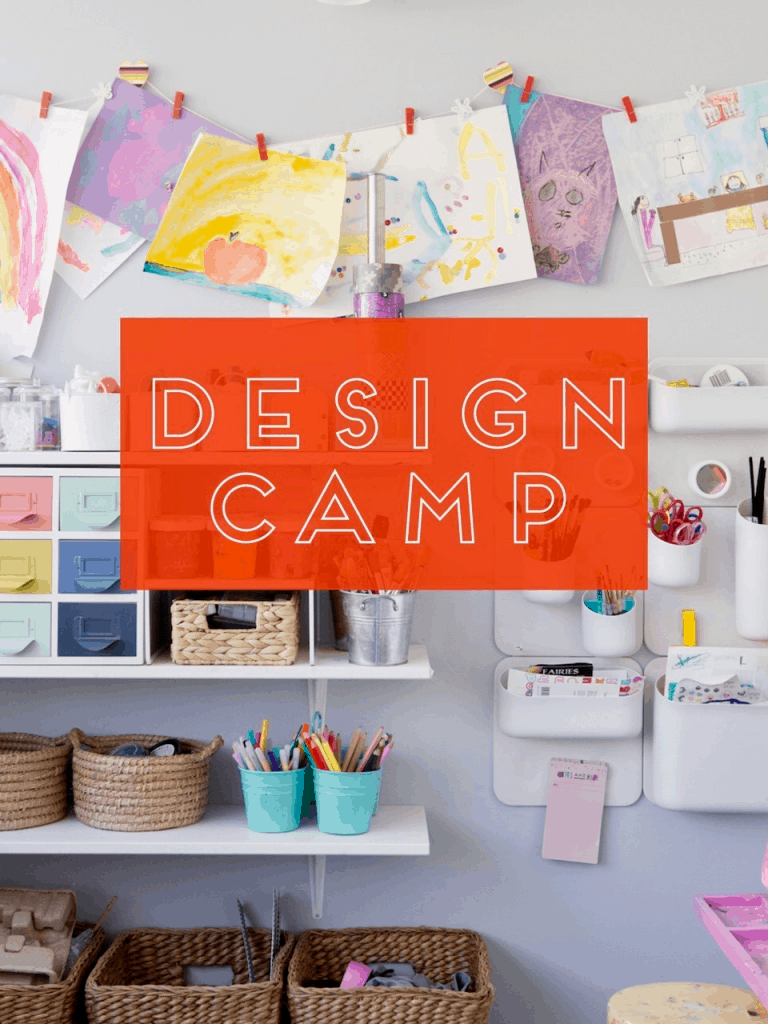 design camp art pantry