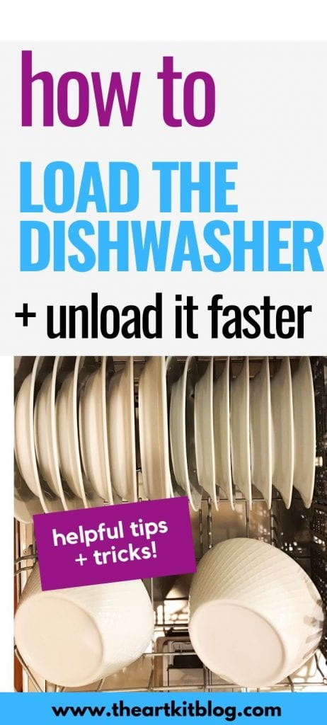 how to load dishwasher and unload it faster