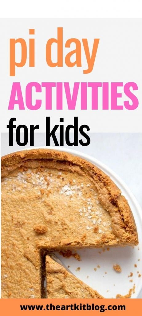 Pi Day activities for kids!