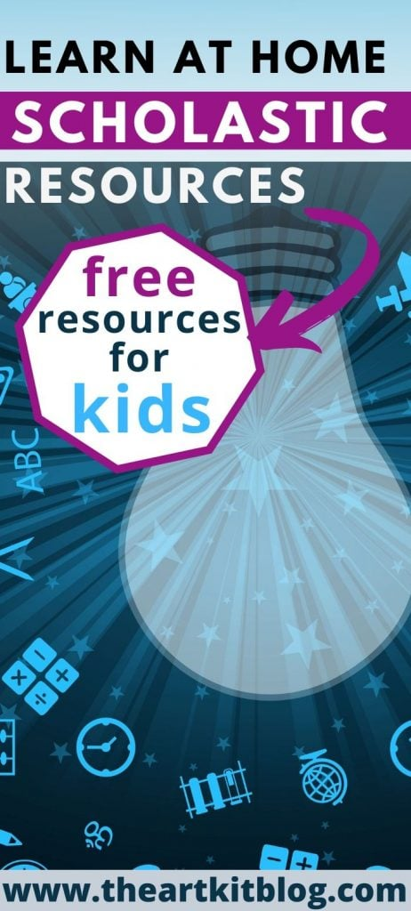 scholastic learn at home free resource for kids and families