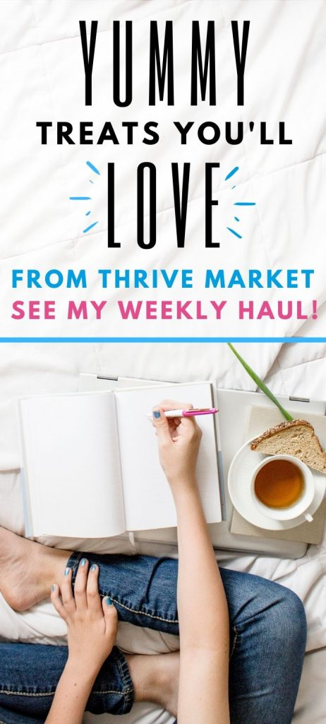 thrive market review weekly haul