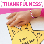 thankfulness craft printable kids
