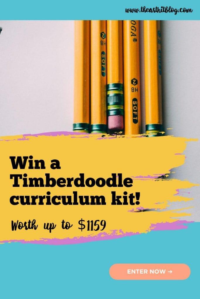 win a timberdoodle curriculum kit giveaway
