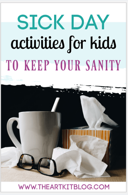 Sick day activities for kids