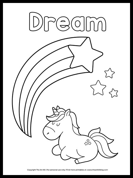 Unicorn Coloring Pages | Cool2bKids | 600x450