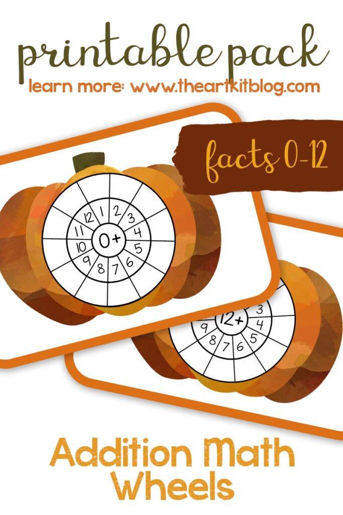 FREE Fall Multiplication Pumpkin Wheels. #fallmultiplicationpractice #fallmathprintablepack #fallmultiplicationpack #multiplicationpractice #freehomeschooldeals #fhdhomeschoolers